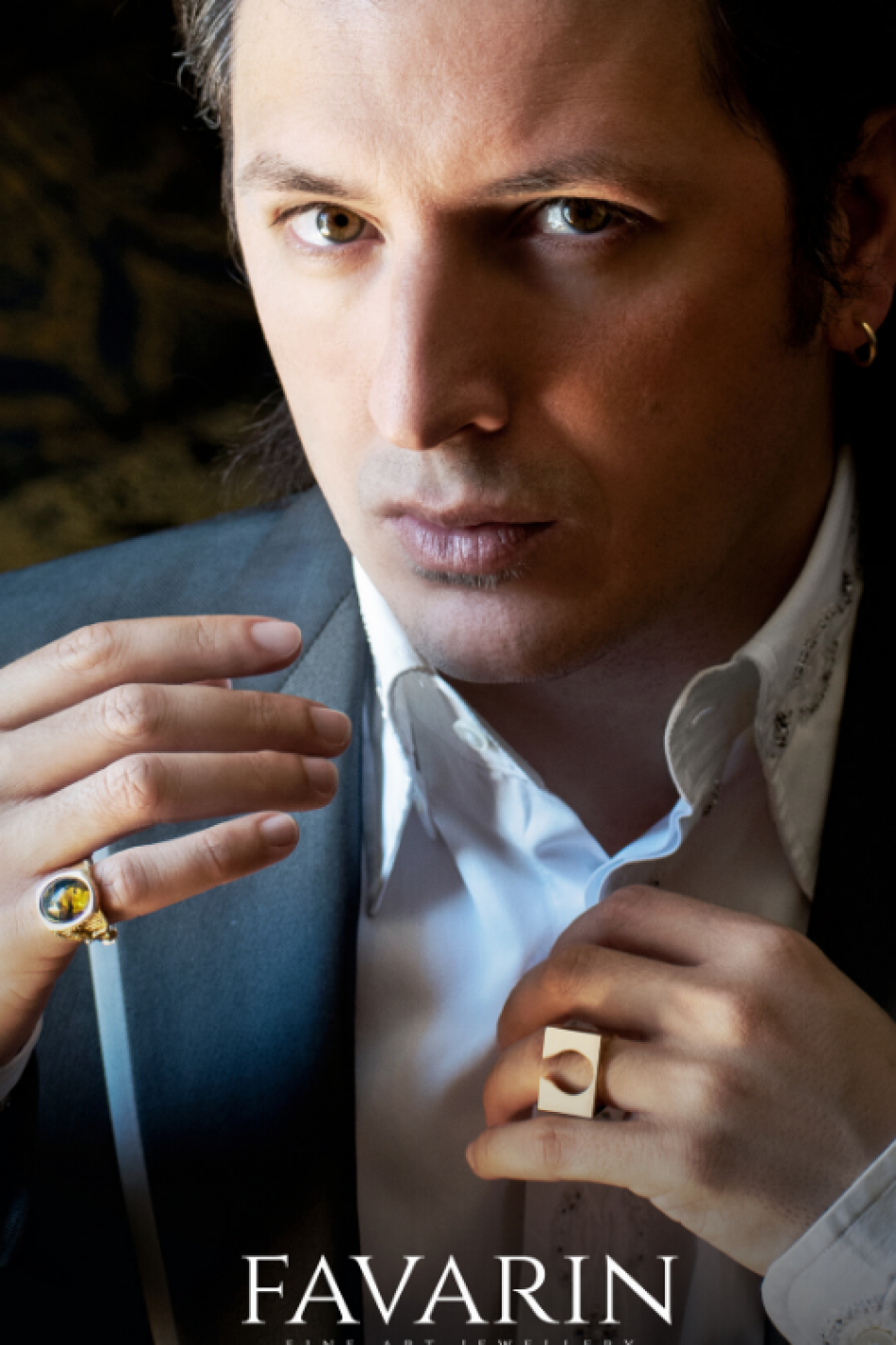 Simone Favarin and his transepochal jewelry concept