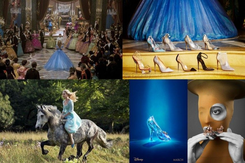 Cinderella is back this year, check out her shoes and jewelry!