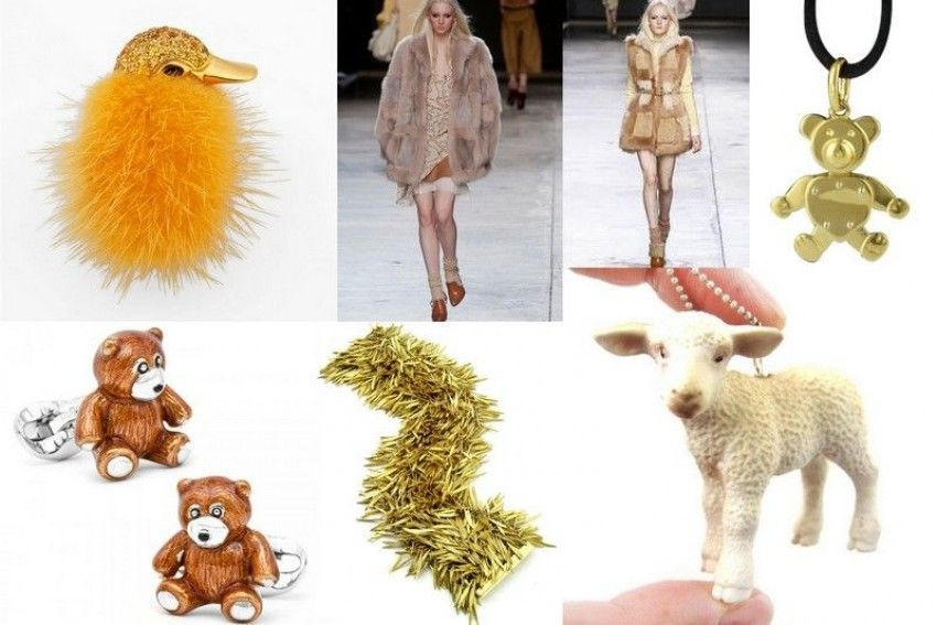The biggest trends in fashion and jewelry 2014-2015.Part 4. Fluffy and Fun!