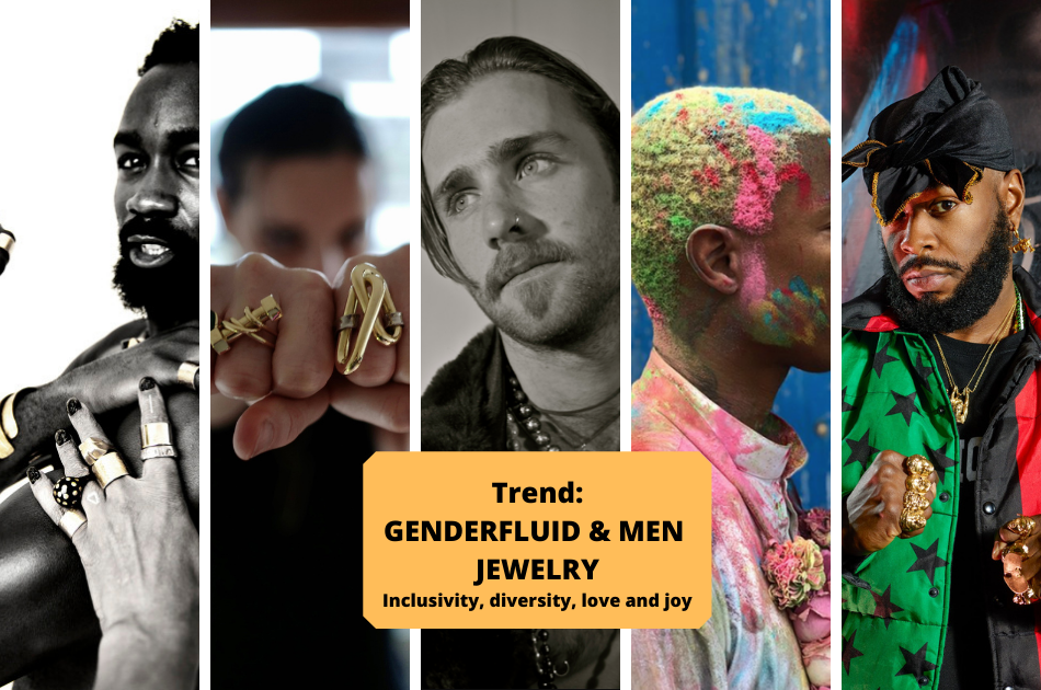 WHY you can't miss the Genderfluid and Men's Jewelry Trend!