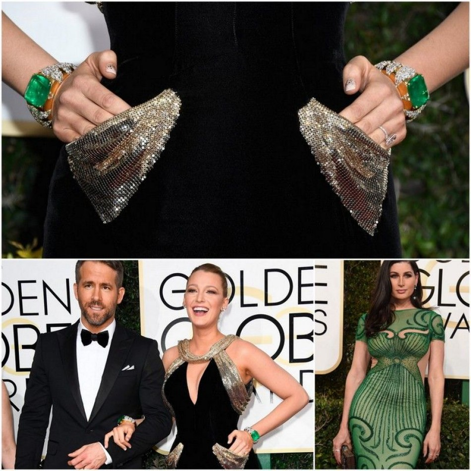 Glamorous jewelry on the Golden Globe Red Carpets
