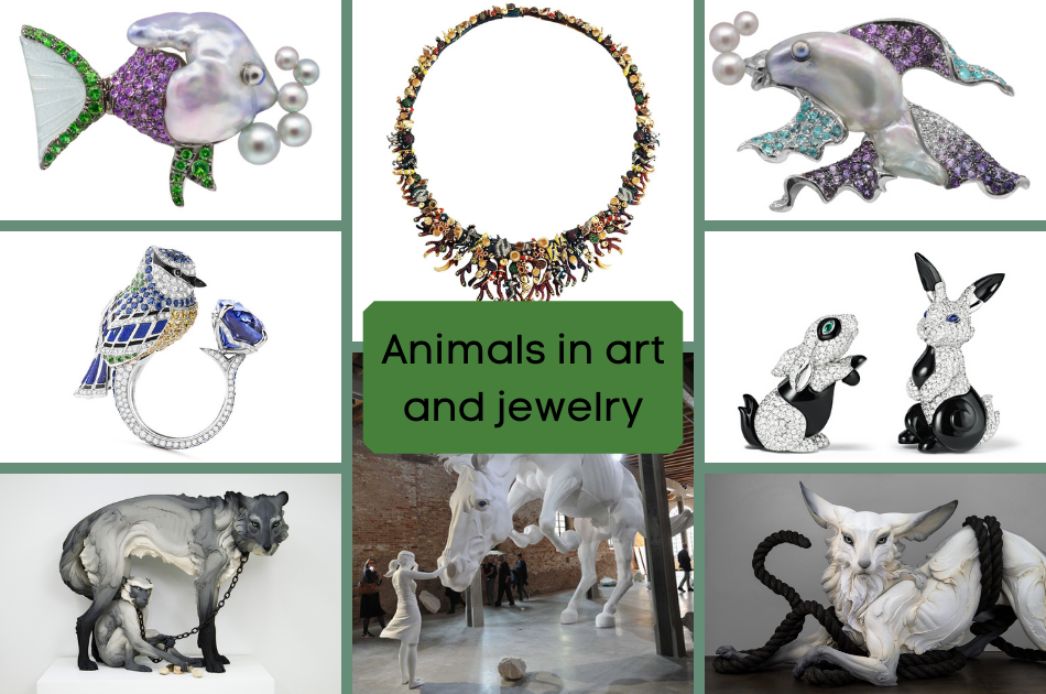 WOW: interpretations of animals in jewelry and art!