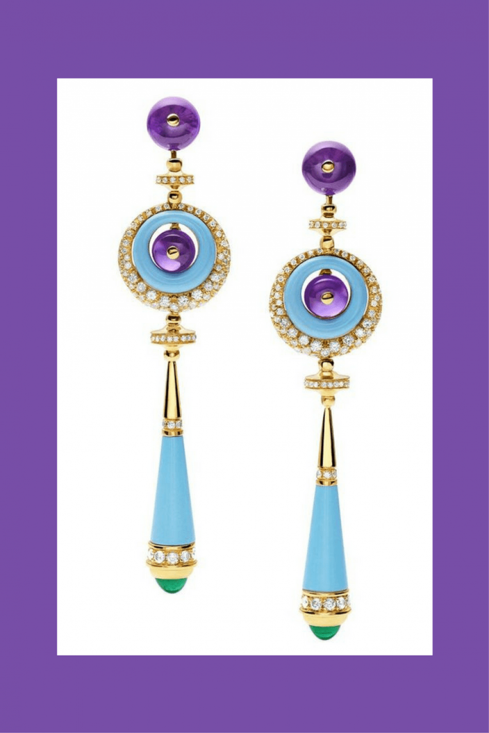 Jewelry in 2018 will be Ultra-Violet