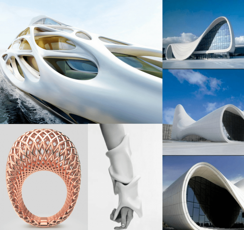 When jewelry meets architecture, wonderful designs and amazing similarities