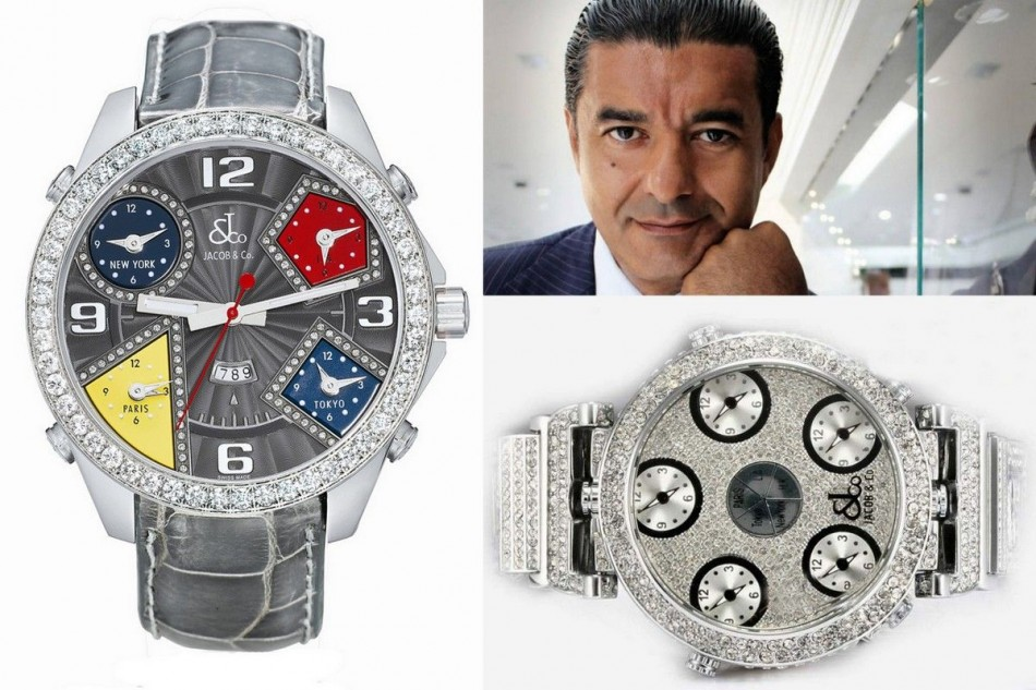If you love over the top watches, guys....then take a look at Jacob & Co.