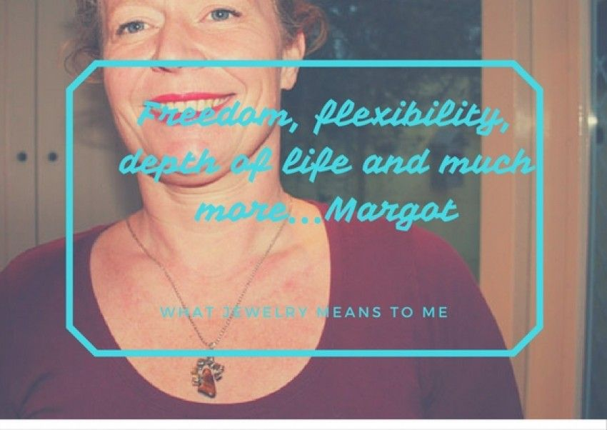 What my jewel means to me. Meet Margot!