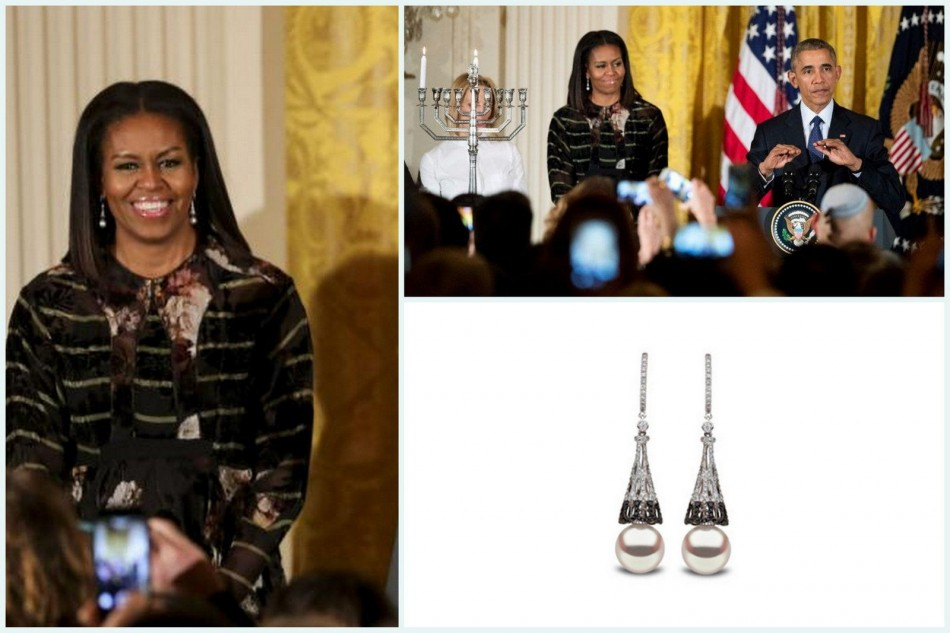 Michelle Obama and other celebrities wore fantastic jewelry this week