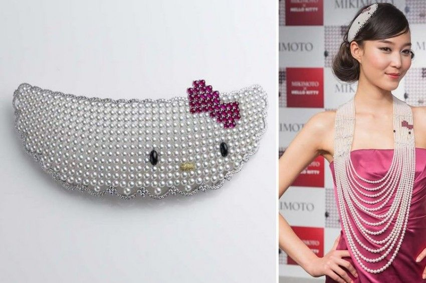 Mikimoto meets Hello Kitty