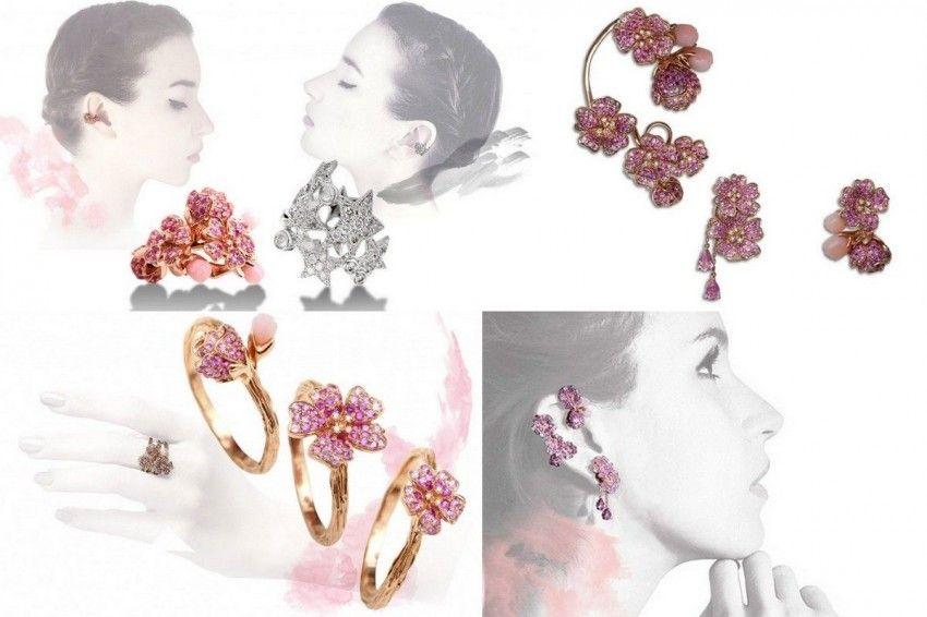 Jewelry that promises spring! Morphée Joaillerie, Les Fleurs du Cerisier