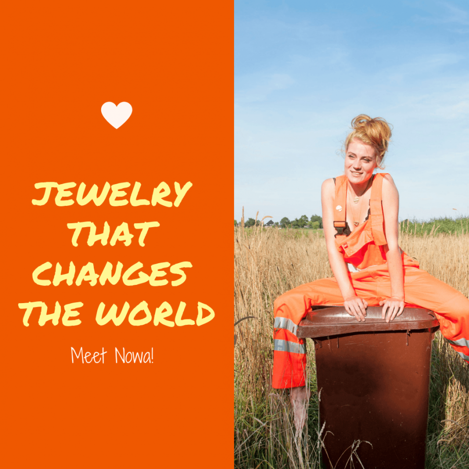 Nowa wants to change the world creating jewelry with your old mobile phone!