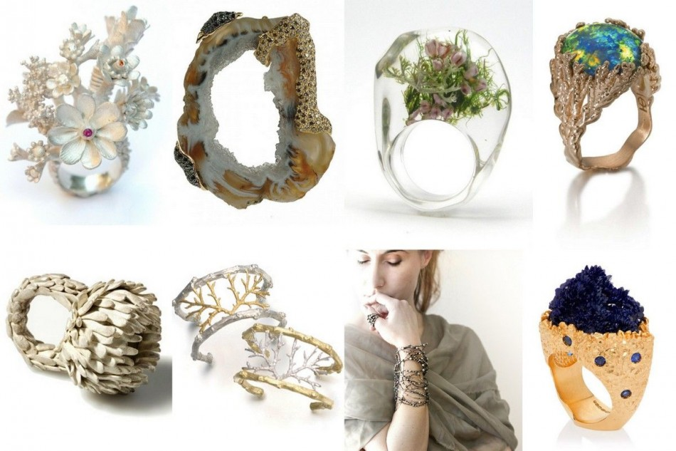 Organic jewelry: No rules, just go with the flow