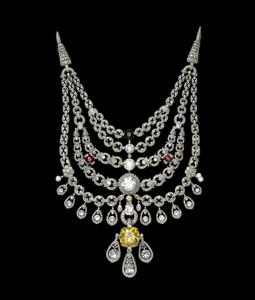 The Patalia Necklace by Cartier, the most extravagant necklace ever