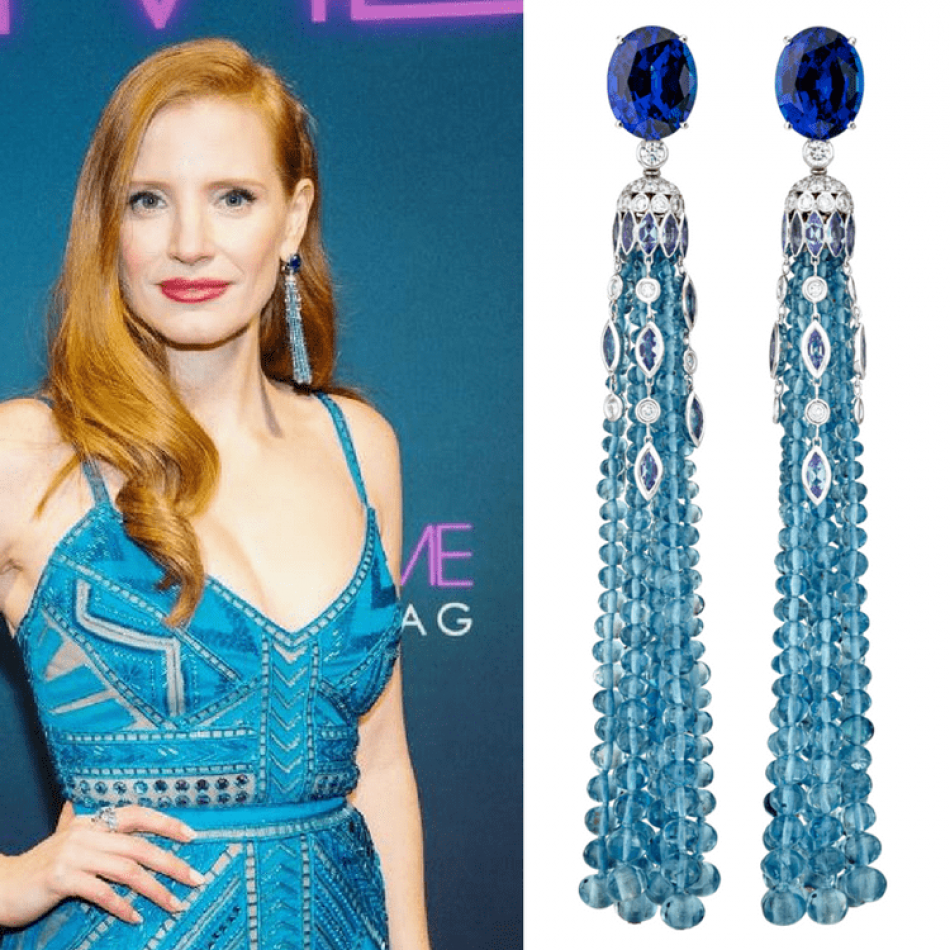 Piaget and Jessica Chastain's dazzling appearance on the Red Carpet