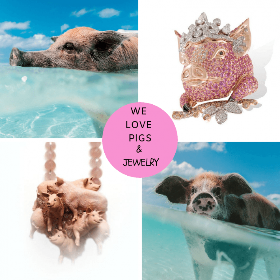 Fabulous Pig Jewelry!