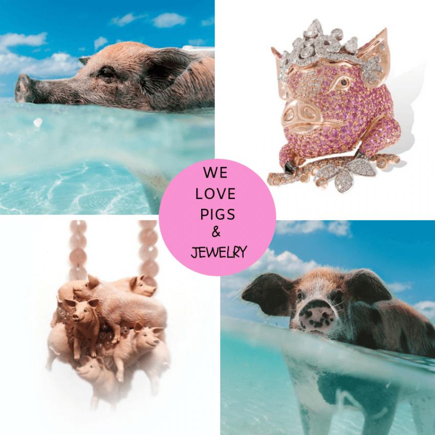 Fabulous Pig Jewelry!