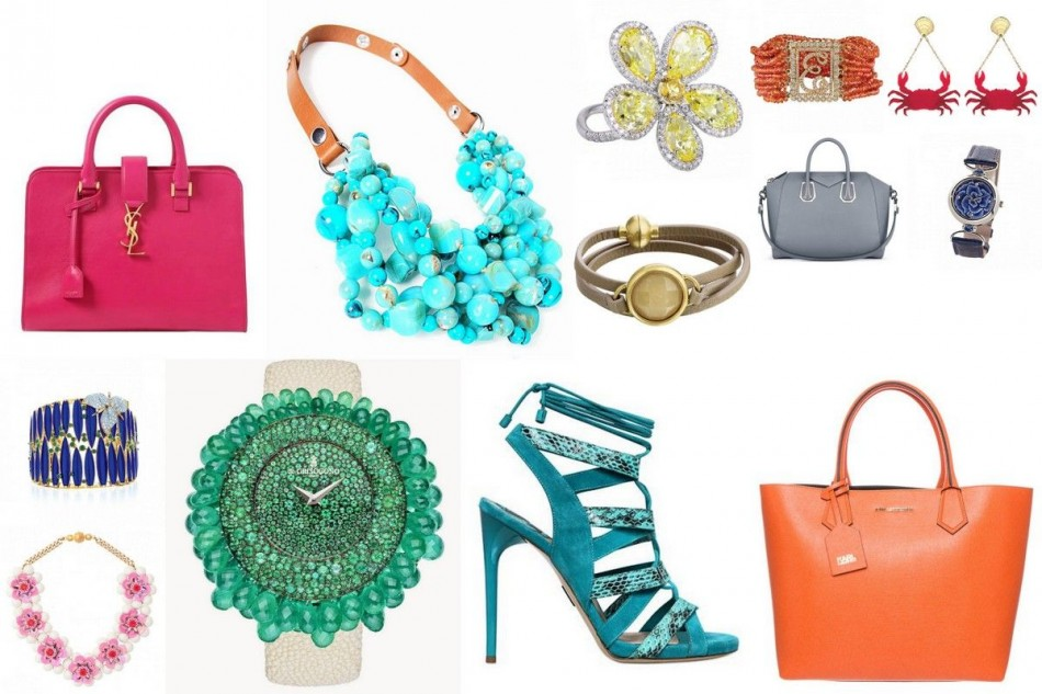 The 10 hottest colors this spring