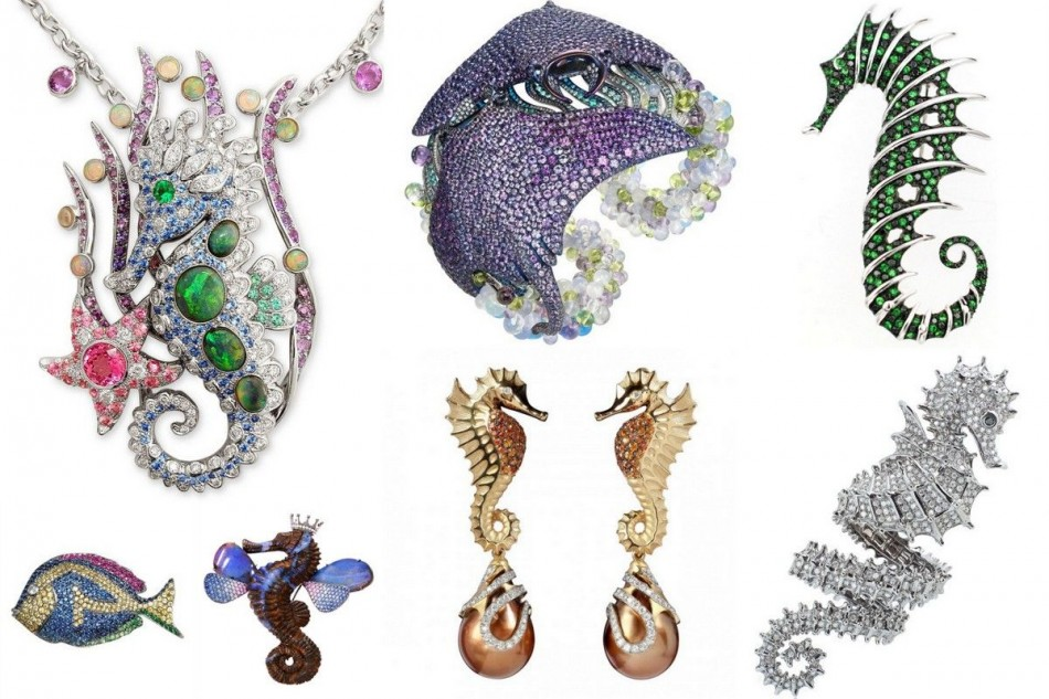 Seahorse jewelry and more, it's summertime!