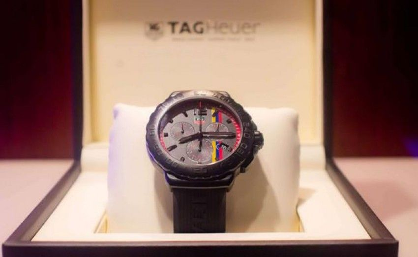 Tag Heuer Limited Edition for Proyecto Paz Latino América