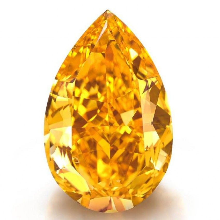 The Orange, the Biggest Orange Diamond in the World is For Sale!