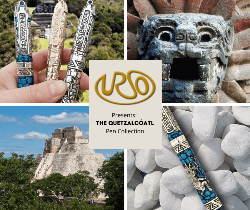 Urso presents: the Quetzalcóatl Pen!