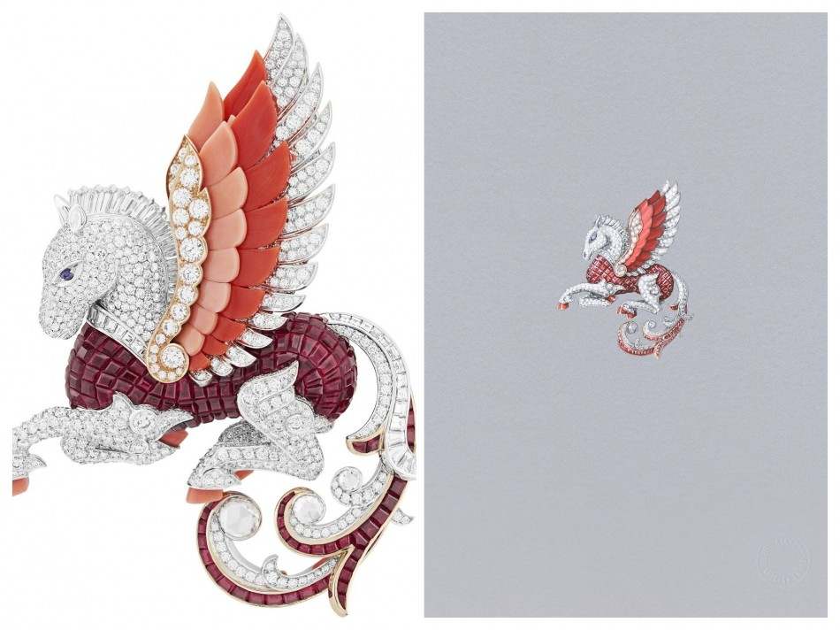 Van Cleef & Arpels delight with new collection of whimsical animal jewelry