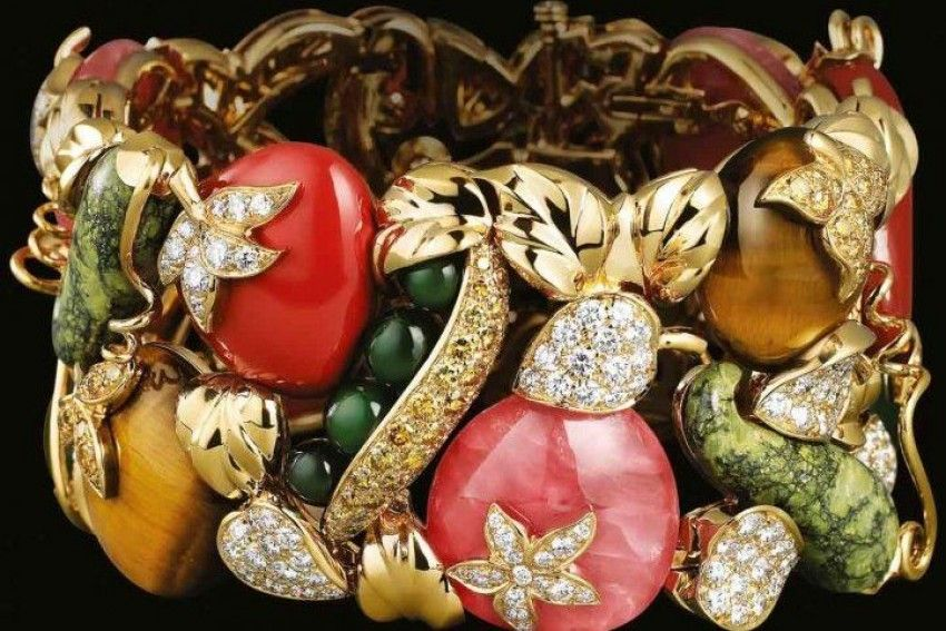Vegetable jewelry…so yumm!