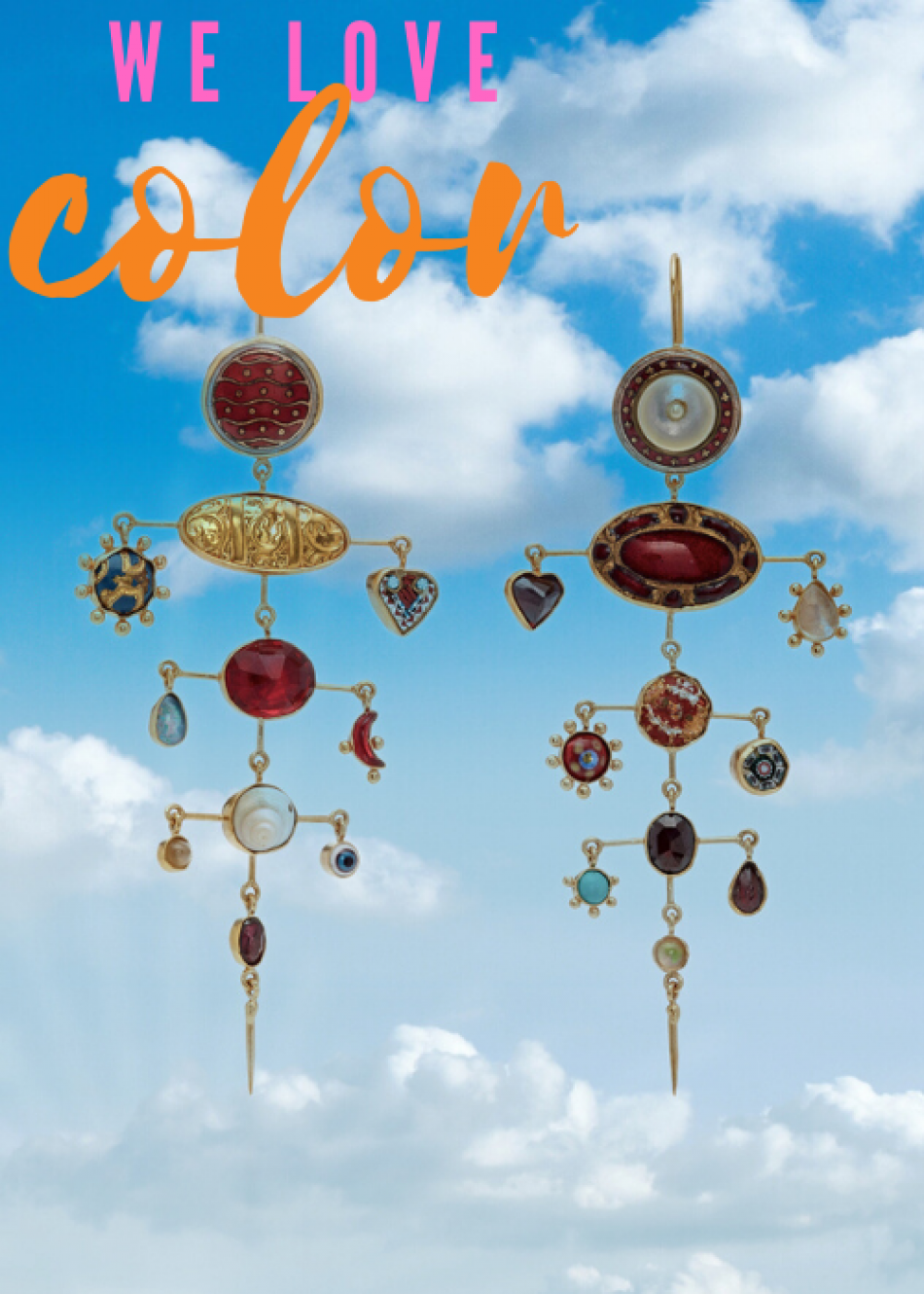 19 Super Colorful Earrings you MUST check out!