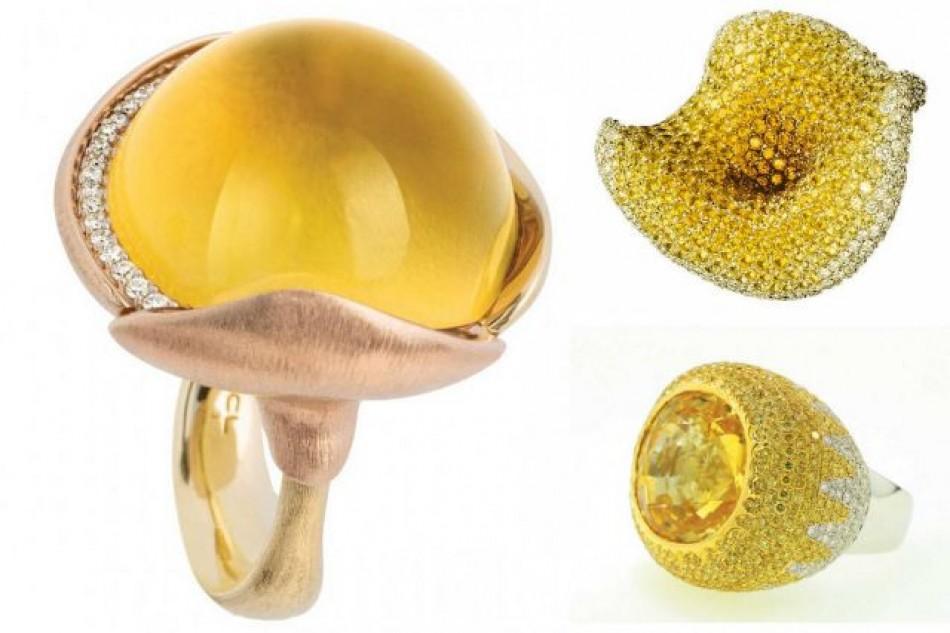 Yellow Gemstones Bring Sunshine Through Jewelry