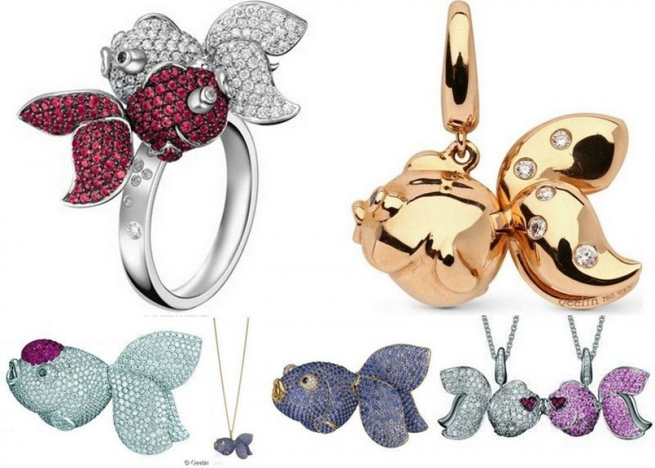 Crocodiles, birds and fish, here is some awesome animal jewelry!