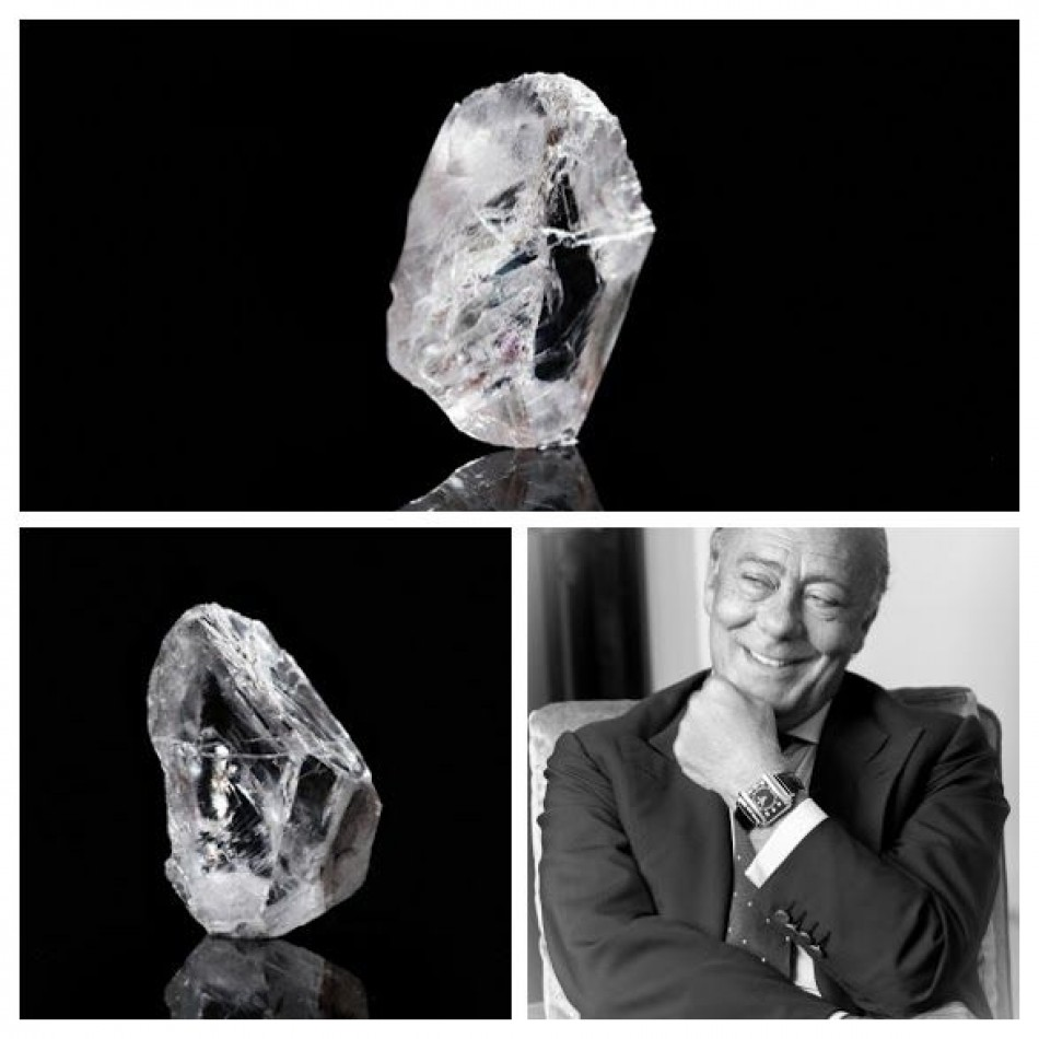 The Worlds most expensive rough diamond, acquired by de Grisogono