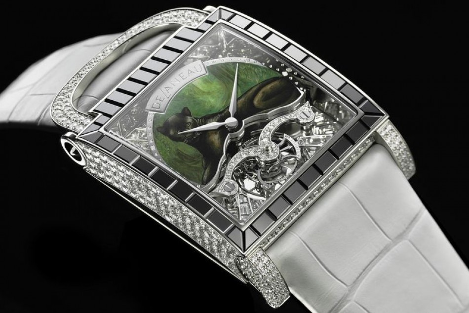 DeLaneau,the perfect harmony between a watch and a jewel