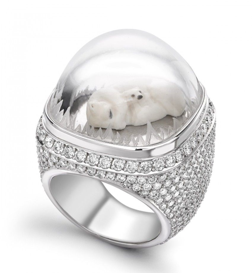 How Theo Fennell's polar bear ring may help you reflect on life.
